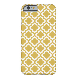 Gold Moraccan Quatrefoil Pattern iphone case. Zazzle. $42.