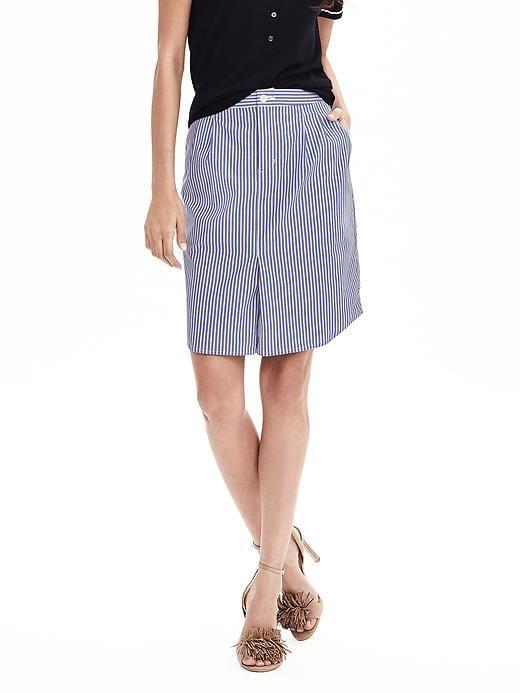 Stripe Shirttail Pencil Skirt. Banana Republic. $78.