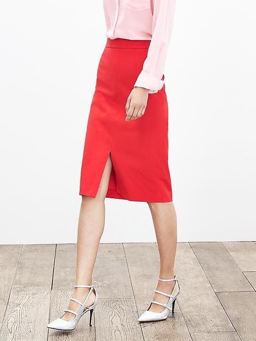 Sloan Fit Vented Pencil Skirt. Banana Republic. Was: $89 Now: $69.