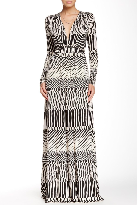 Rachel Pally Printed Long Sleeve Maxi Dress. Nordstrom Rack. Was: $251 Now: $109.