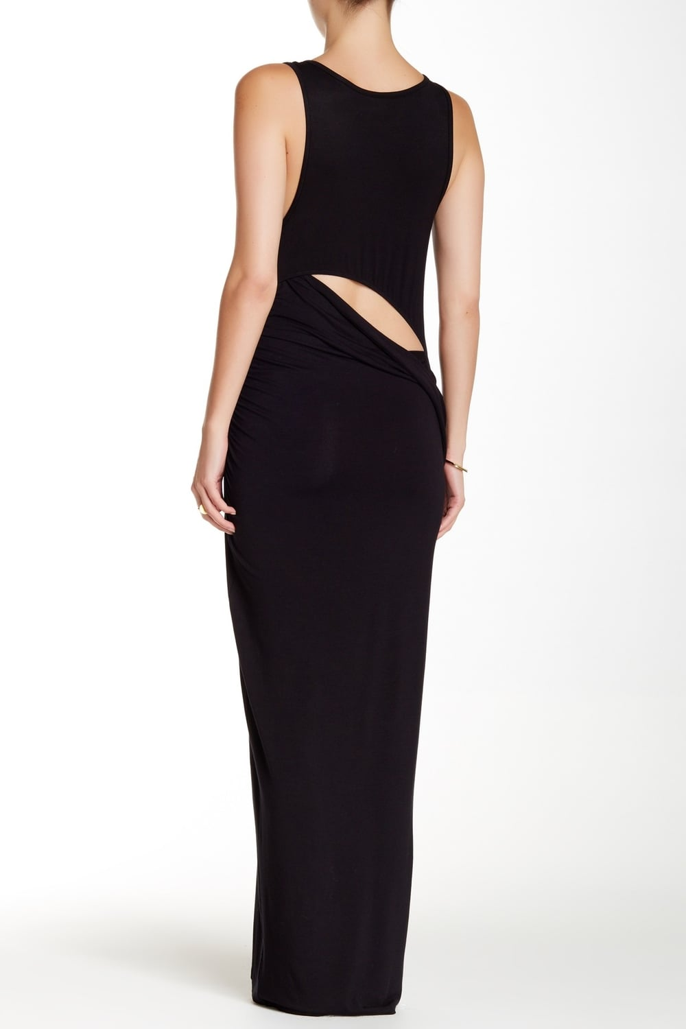 Loveappella Open Back Tank Maxi Dress. Available in black, navy. Nordstrom Rack. Was: $98 Now: $39.