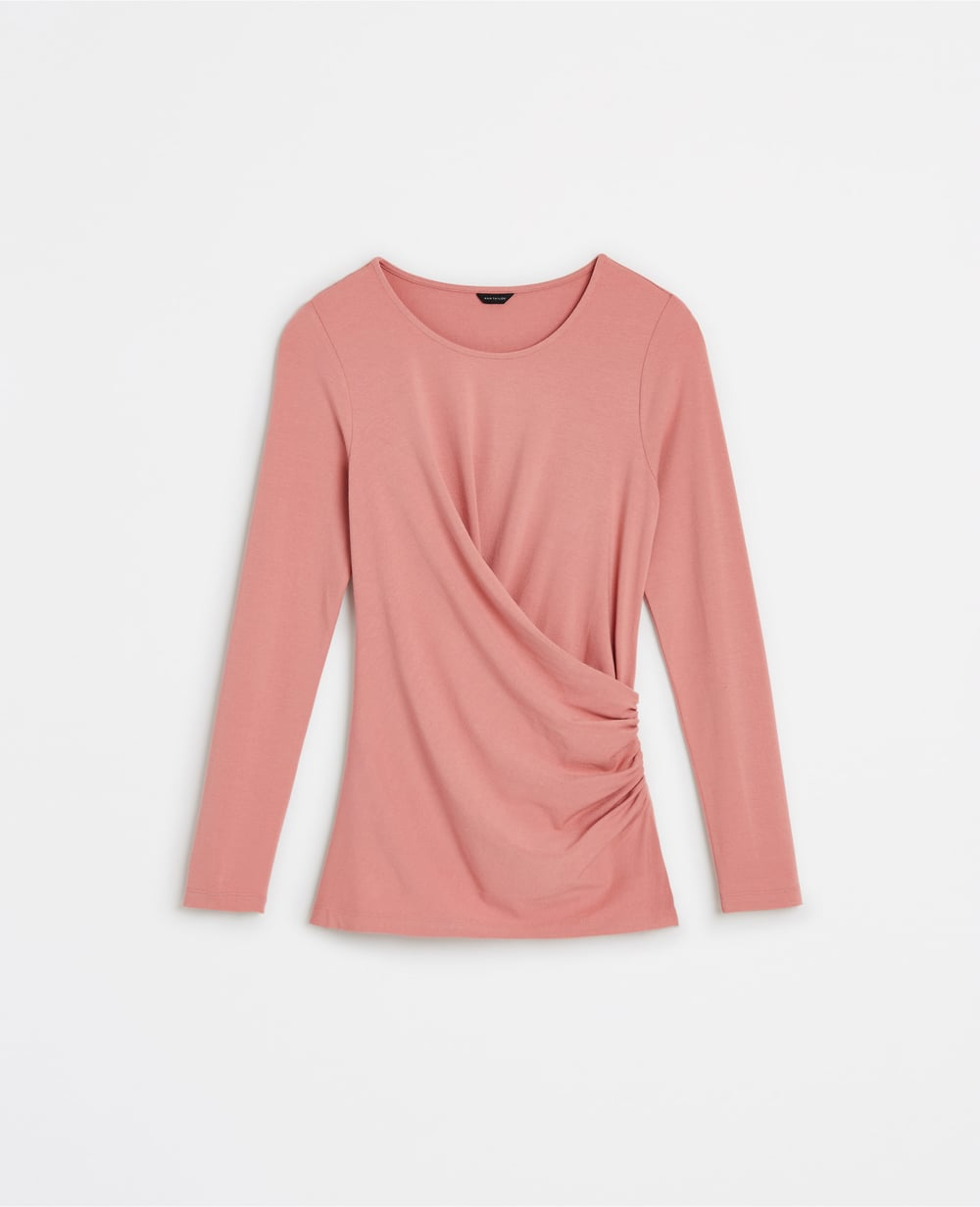 Ruched Long Sleeve Top. Available in multiple colors. Ann Taylor. $59.