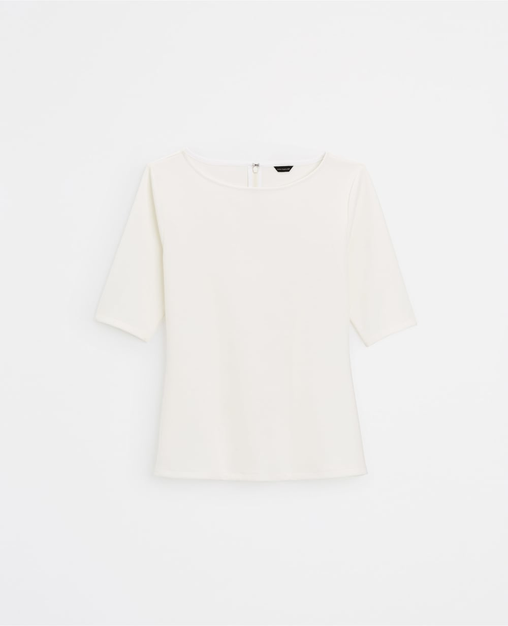 Ponte Short Sleeve Top. Available in multiple colors. Ann Taylor. $59.