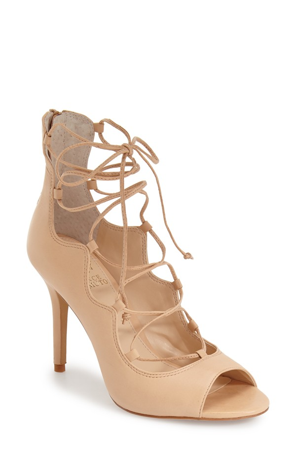 Vince Camuto Sandria Lace Up Sandal. Available in multiple colors. Nordstrom. $128.