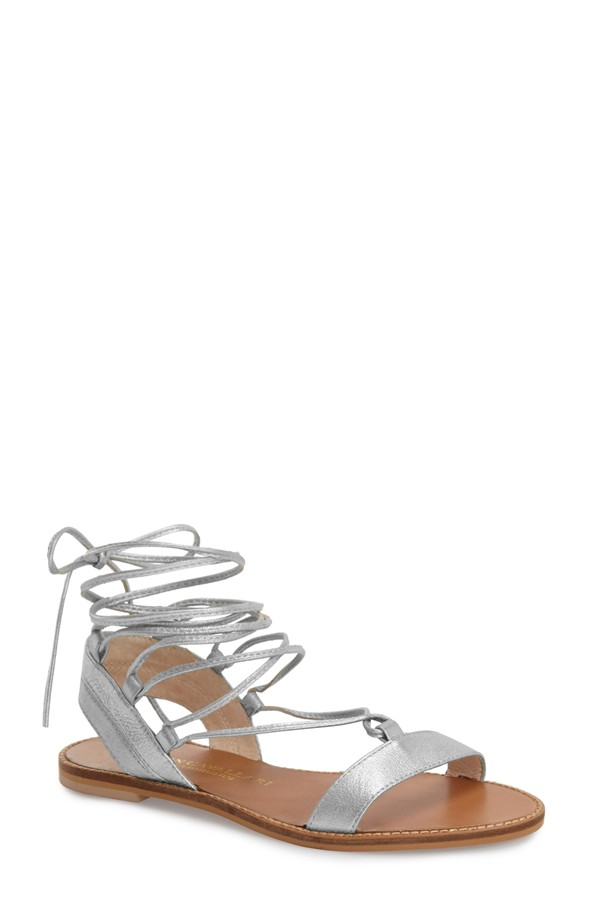 Kristin Cavallari Belle Lace Up Sandals. Available in multiple colors. Nordstrom. $109.