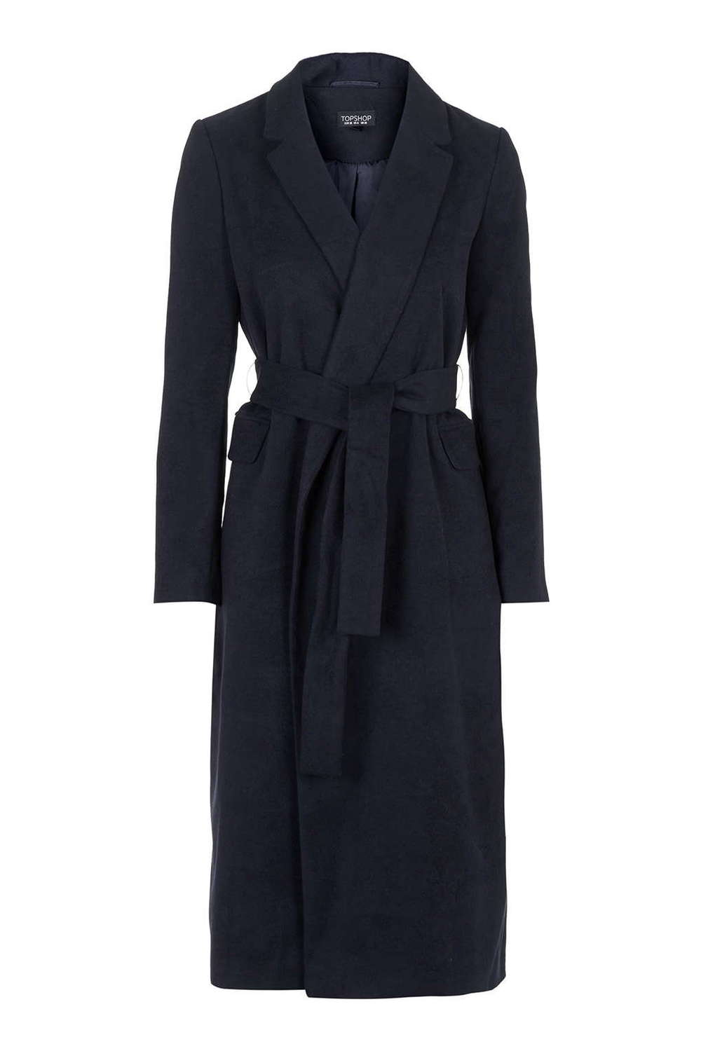 TALL Neat Belted Slouch Coat. Topshop. $150.