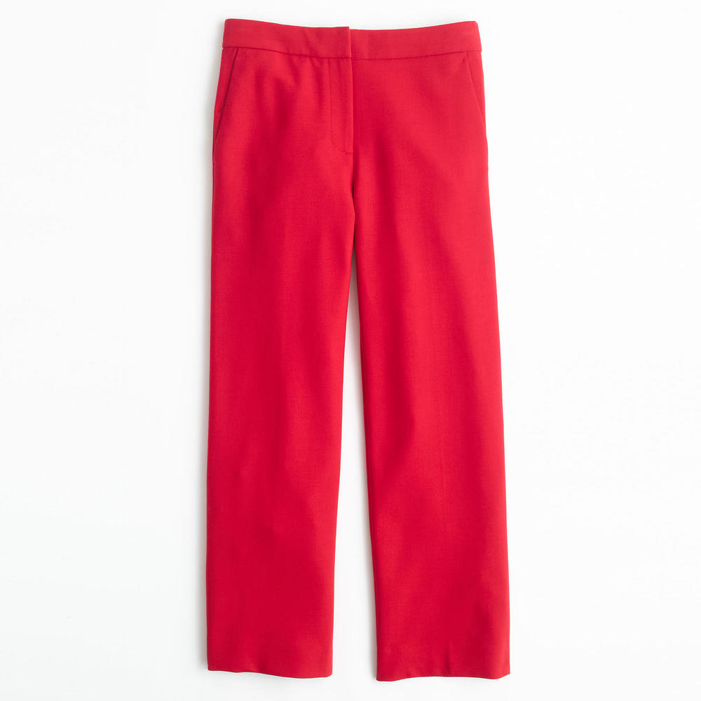 TALL PATIO PANT IN BI-STRETCH WOOL. Multiple colors available. J.Crew. Was: $128 Now: $59-79. Final Sale.