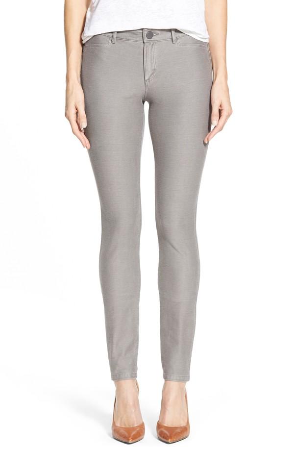 Nic + Zoe Denim Knit Skinny Jeans. Nordstrom. $128.