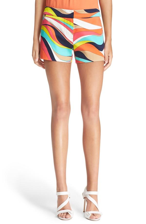 Trina Turk Corbin 2 Print Shorts. Nordstrom. $198.