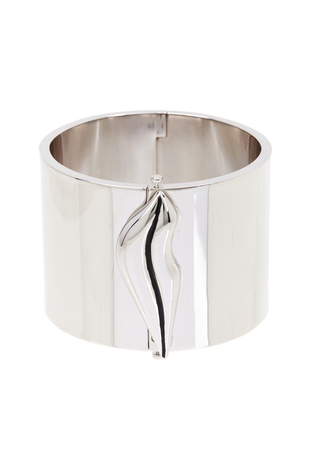 Diane von Furstenberg Petra Lip Wide Bangle. Also on the site in gold. Nordstrom Rack. Was: $198 Now: $79.
