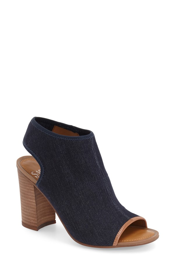 Franco Sarto Solano Open Toe Bootie. Available in two colors. Nordstrom. $128.