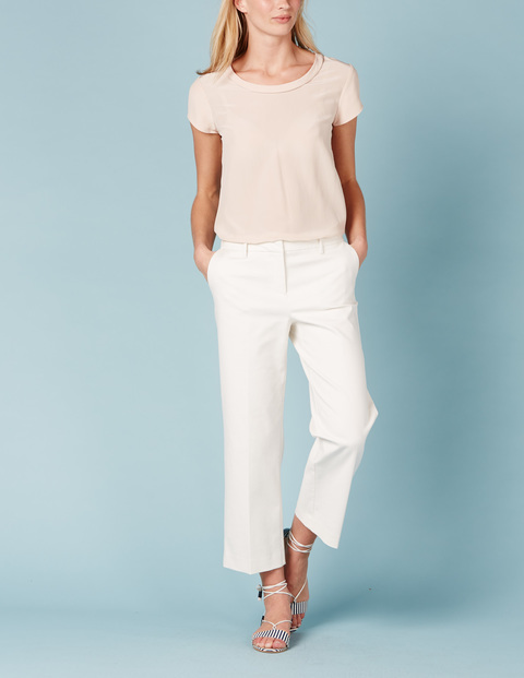 Richmond Wide Leg Crop Pant. Ivory works, too! Boden. Was: $88 Now: $78.
