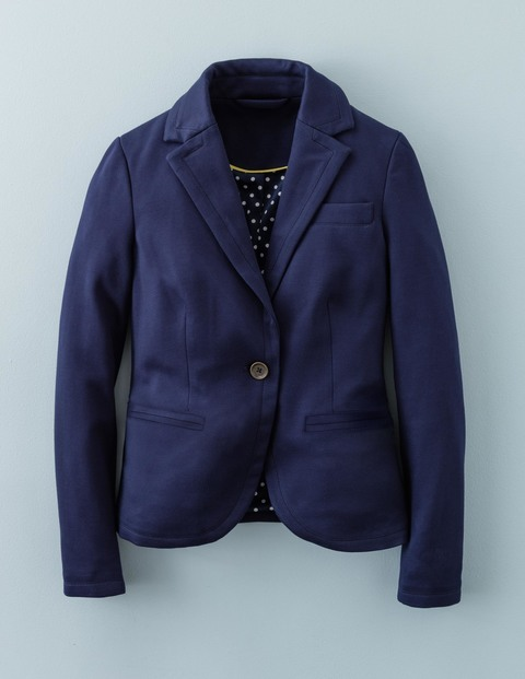 Hazelbury Blazer WE532. Available in navy, black, rose. Boden. Was: $138 Now: $122.