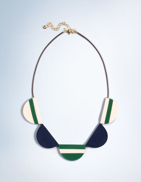 Resin Necklace. Available in two color combos. Boden. Was: $54 Now: $48.