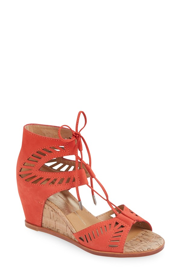 Dolce Vita Linsey Lace Up Wedges. Available in multiple colors. Nordstrom. $139.