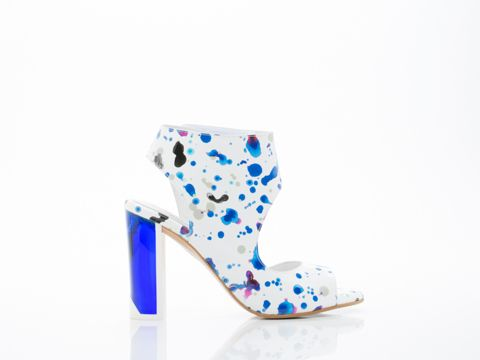 MISTA Tina in Blue Splash. Solestruck. $354.