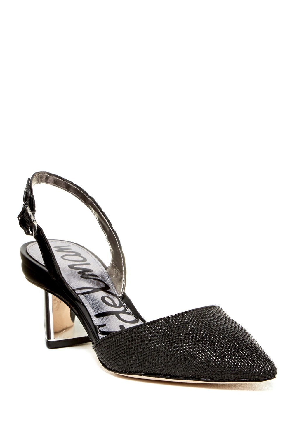 Sam Edelman Carol Croc Embossed Slingback Pump. Nordstrom Rack. Was: $130 Now: $79.