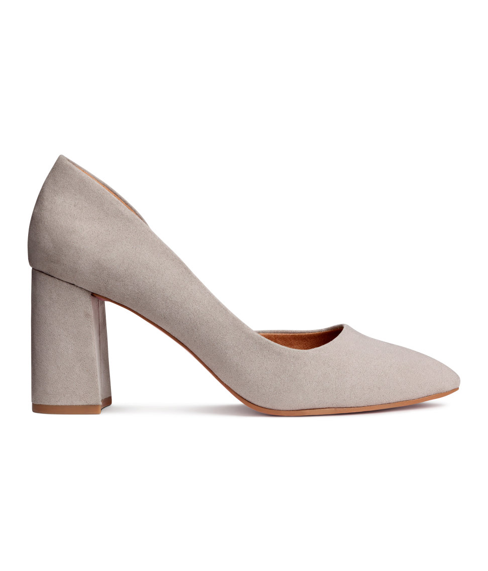 Block Heeled Pumps. H&M. $34.