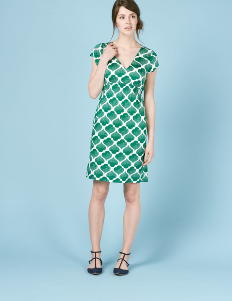 Petite Curved Waist Seam Dress. Available in multiple colors, prints. Boden. $78.