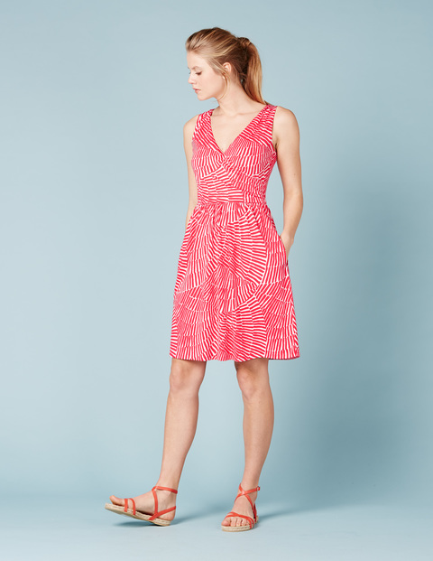 Petite Pretty Ruched Wrap Dress. Available in multiple colors. Boden. $78.