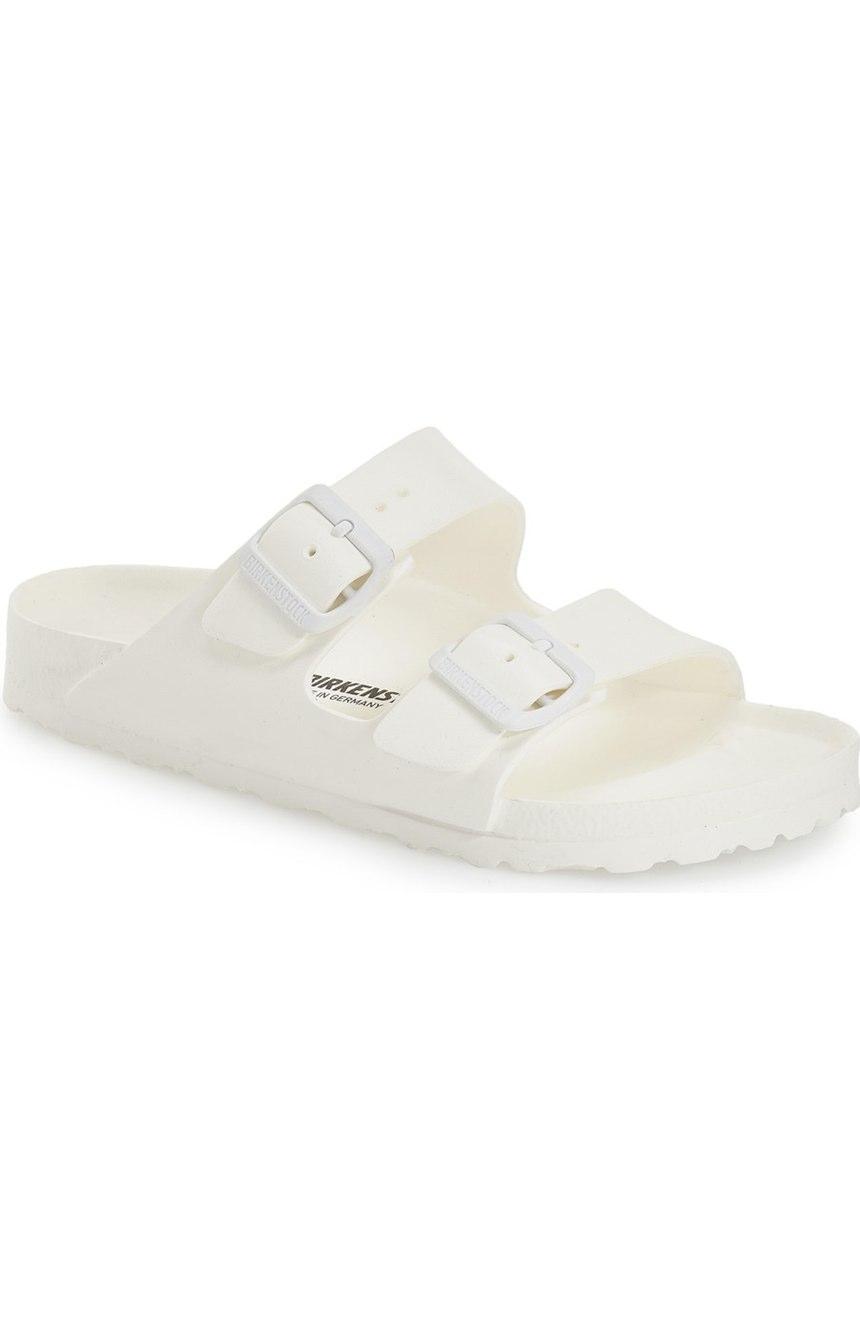 Birkenstock Essentials Arizona Slide Sandal. Available in multiple colors. Nordstrom. $34.