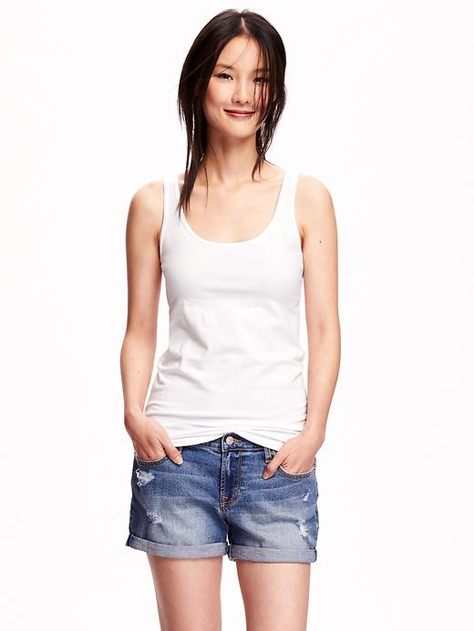 Essential Fitted Tank. Available in multiple colors. Old Navy. Was: $10 Now: $4-8.