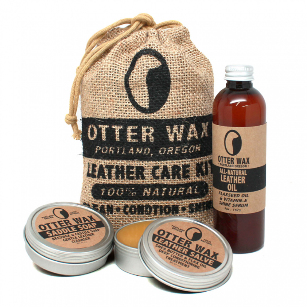 Otter Wax Leather Care Kit. re-soul. $29.