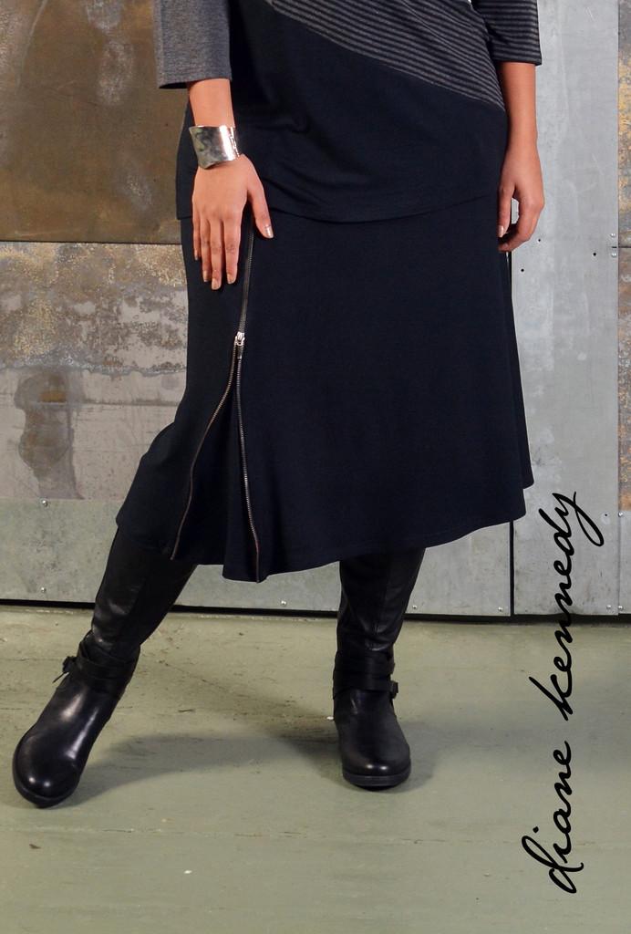 Attitude Skirt. Diane Kennedy. $145. (Organic Cotton and Bamboo)