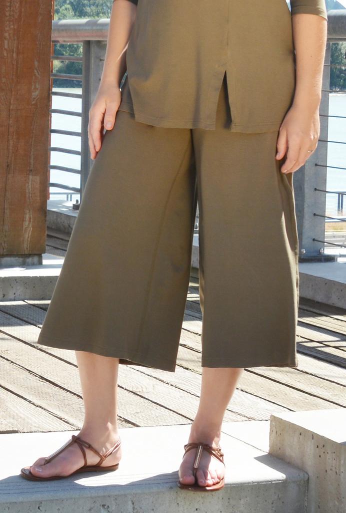 Rhythm Gaucho Pants. Diane Kennedy. $135. (Organic Cotton and Bamboo)