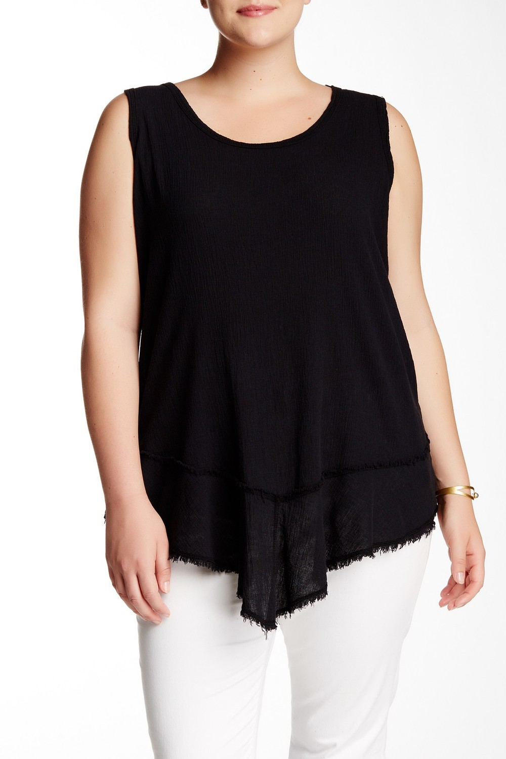 Able Gauze Tank. Nordstrom Rack. Available in black, purple. Was: $68 Now: $26. (cotton)