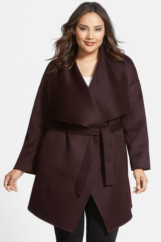 Fleurette Wool & Cashmere Double Face Wrap Coat. Nordstrom Rack. Was: $1295 Now: $259.