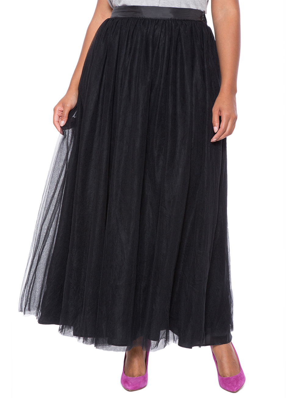 Studio Tulle Maxi Skirt. Eloquii. $119. ($50 off every $100 you spend with code: ENJOY)