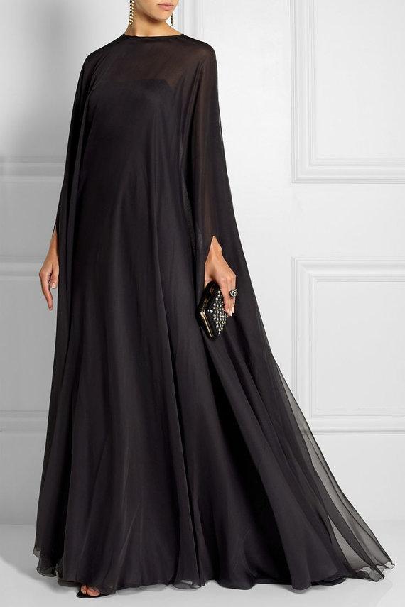 Dubai Kaftan Style Evening Gown. Etsy. $110.