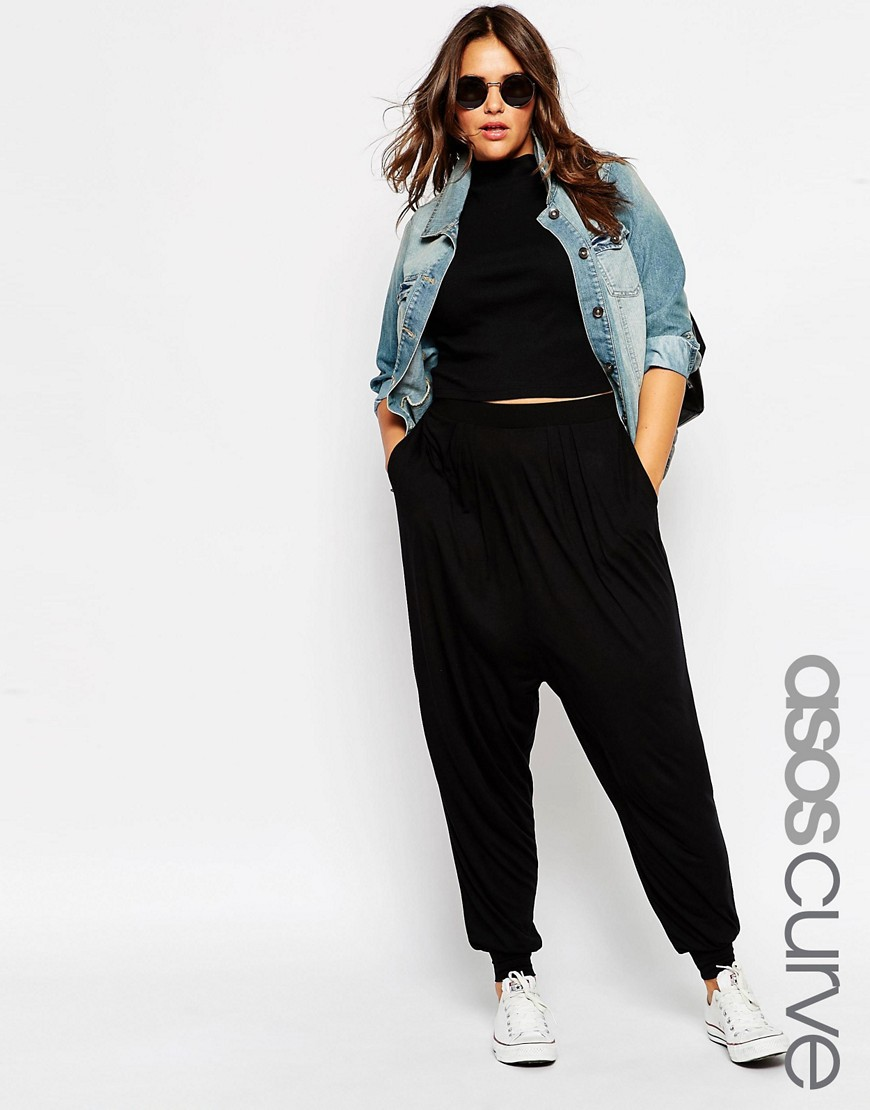 ASOS Curve Harem Pants. ASOS. $26. (jersey cotton)
