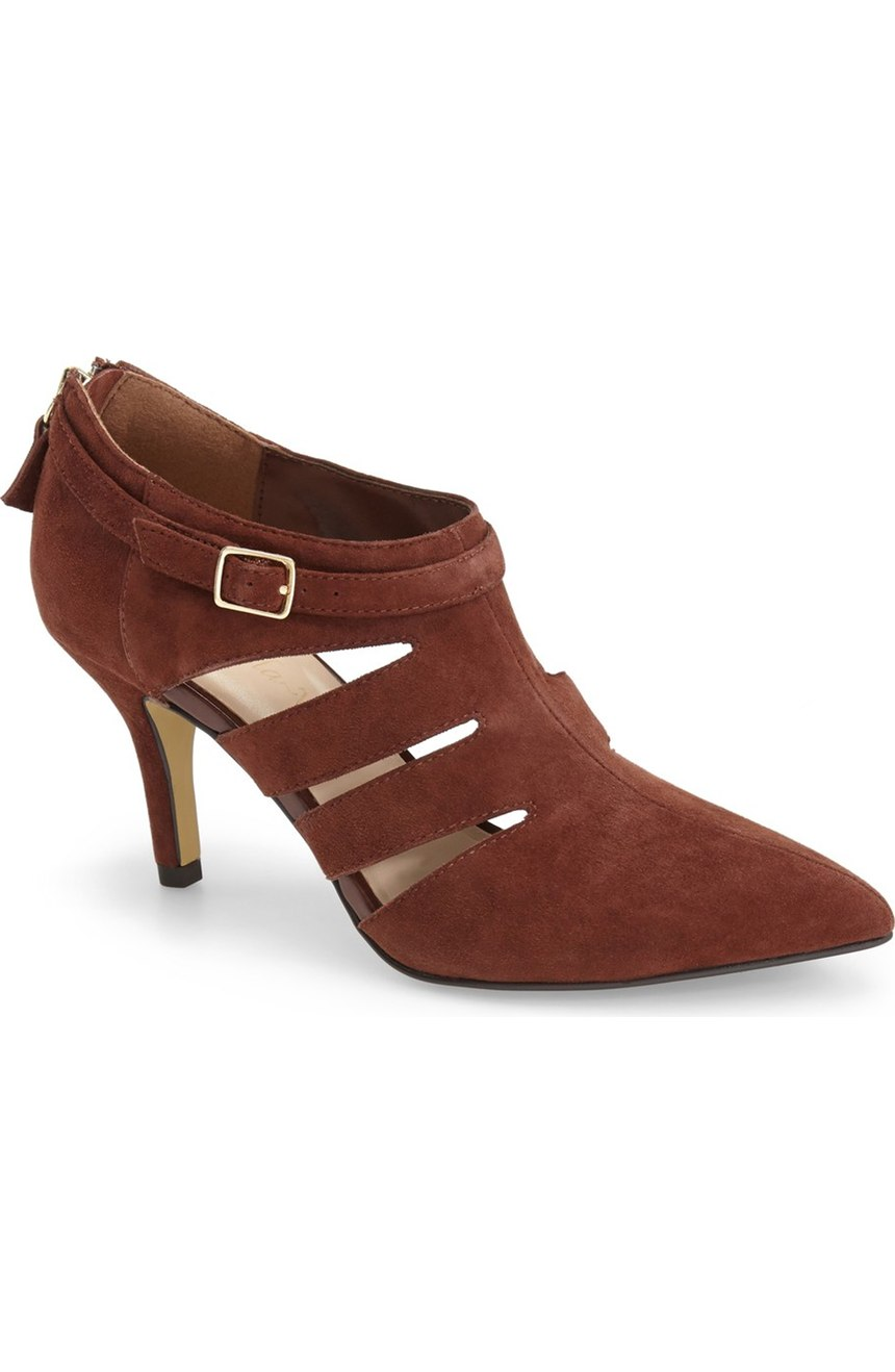 Bella Vita Dylan Cutout Pointy Toe Bootie. Nordstrom. $94. (Available to 12ww)