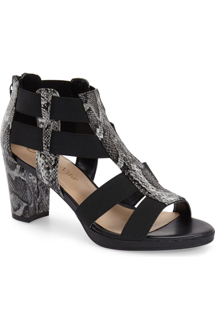 Bella Vita Lincoln Sandal. Available in two colors. Nordstrom. Was: $79 Now: $65. (Available up to size 12ww).