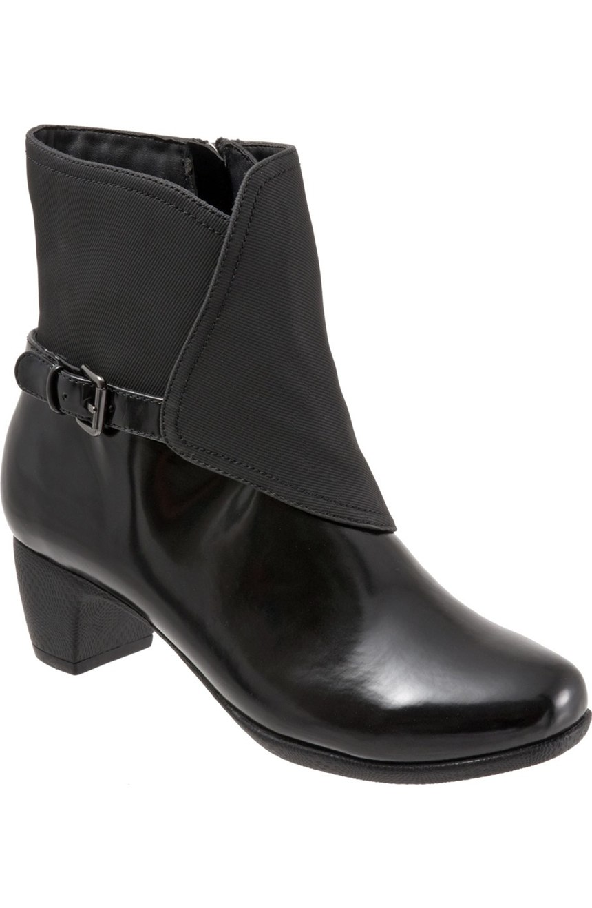 SoftWalk Puddles Waterproof Bootie. Nordstrom. $129. (Available up to size 12w).
