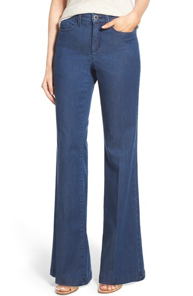 NYDJ Claire Stretch Trouser Jean. Available in two washes. Nordstrom. $124.