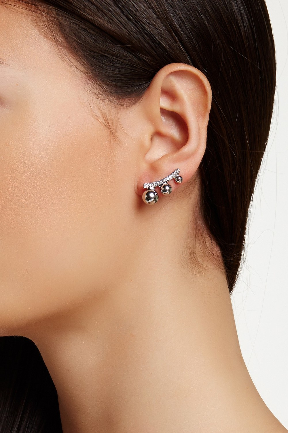 14th & Union Triple Ball Pave Ear Crawlers. Nordstrom Rack. $14.