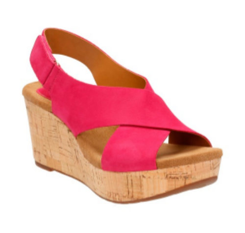Clarks®' Caslynn Shae' Wedge Sandal. Available in multiple colors. Nordstrom. $119.