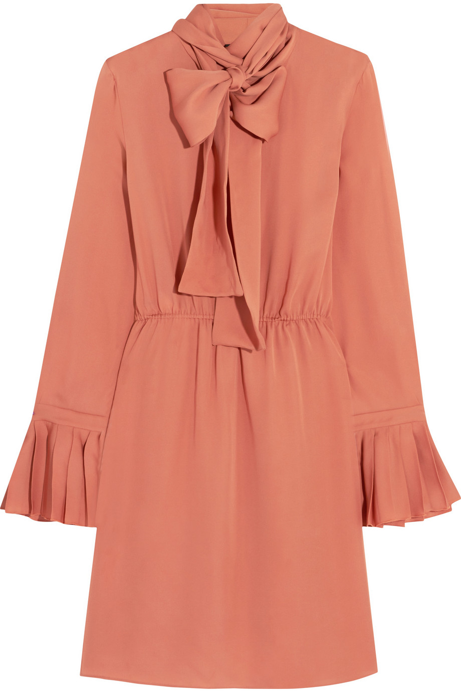 Gucci Pussy Bow Silk Georgette Dress. NET-A-PORTER. $1,980.