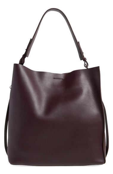 ALLSAINTS  'Paradise North/South' Leather Tote. Available in multiple colors. Nordstrom. Was: $348 Now: $229.
