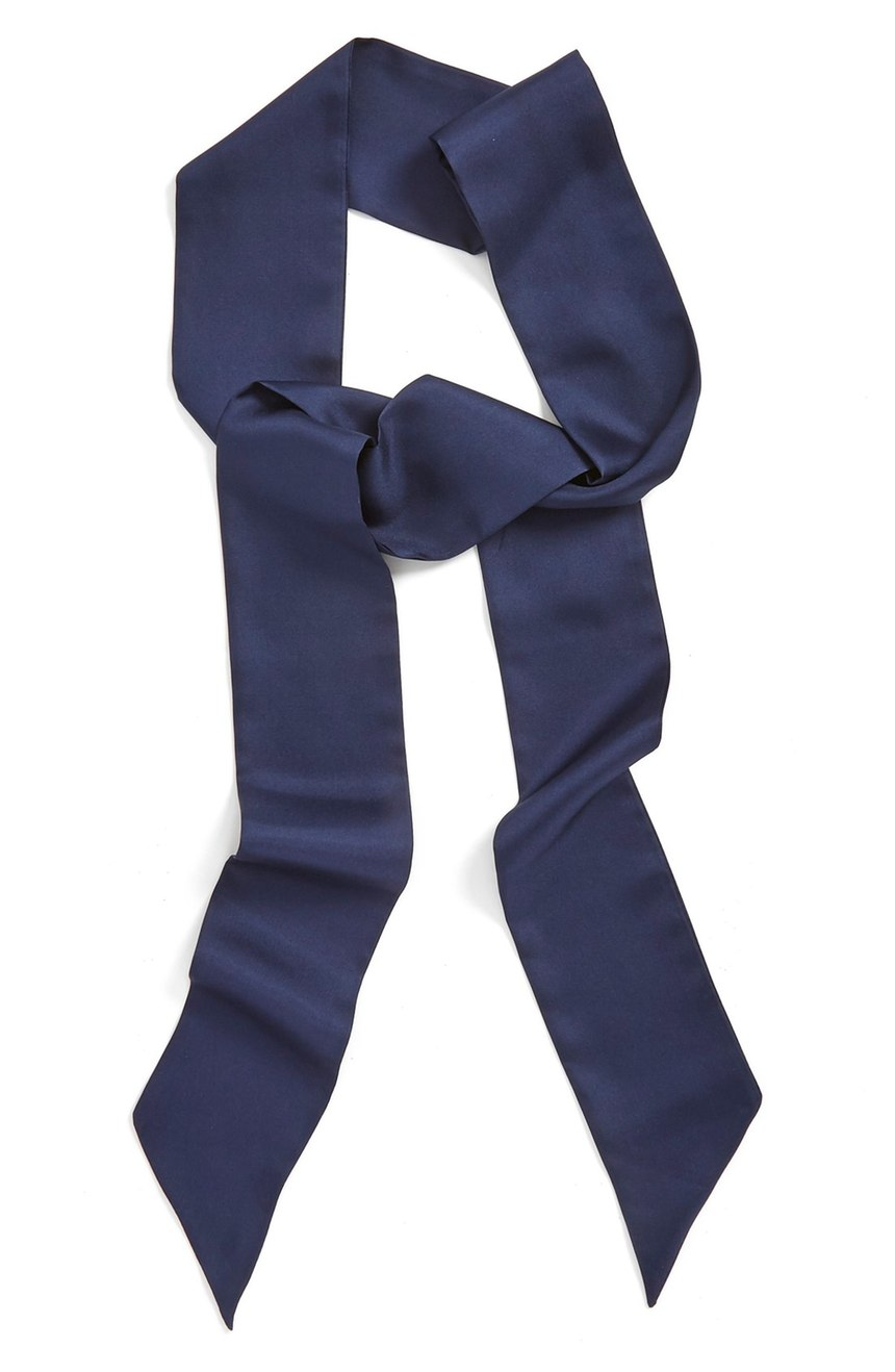 Halogen®  Silk Skinny Scarf. Nordstrom. Was: $38 Now: $24.