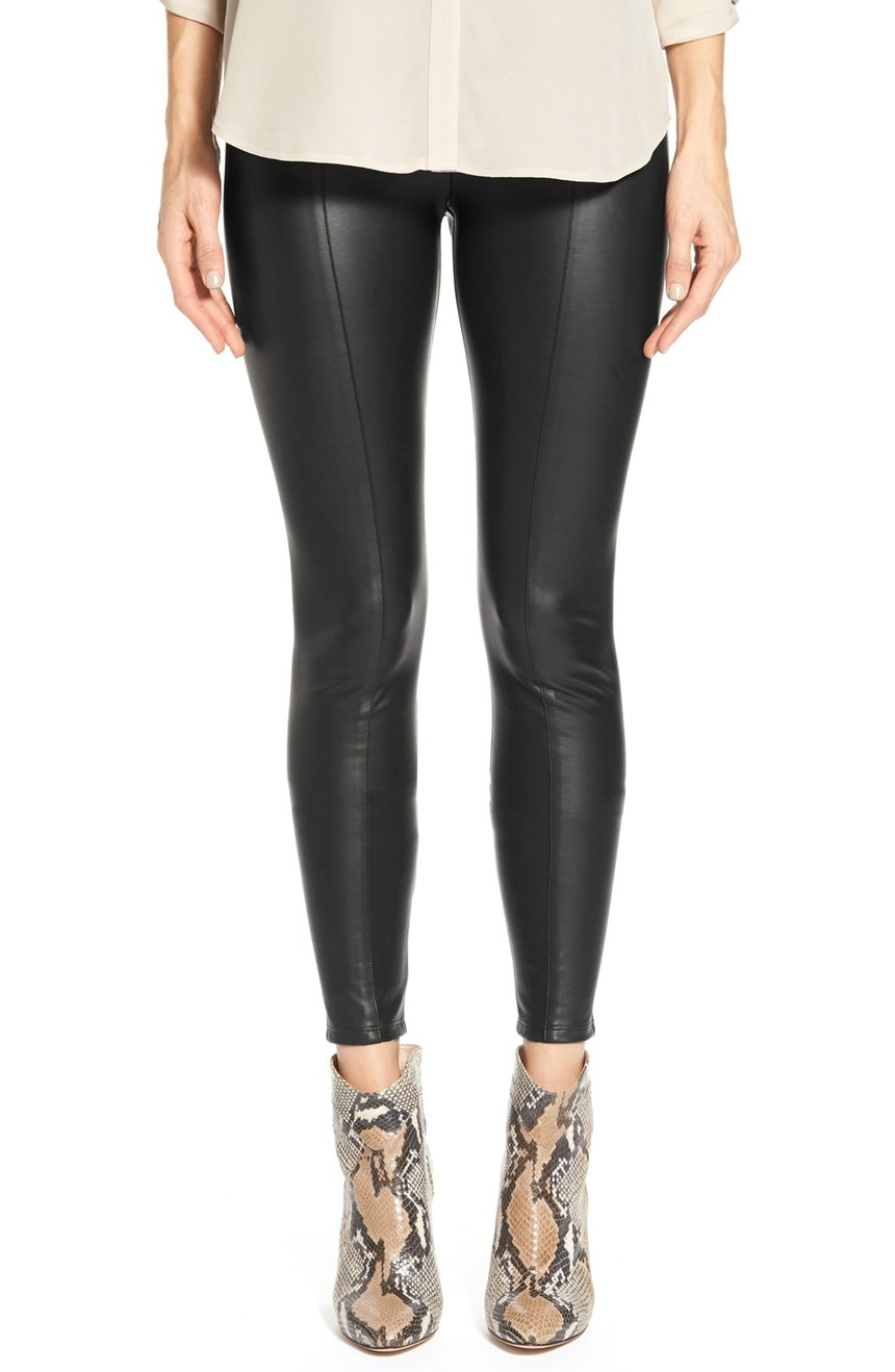 Lyssé  High Waist Faux Leather Leggings. Nordstrom. Was: $108 Now: $71.