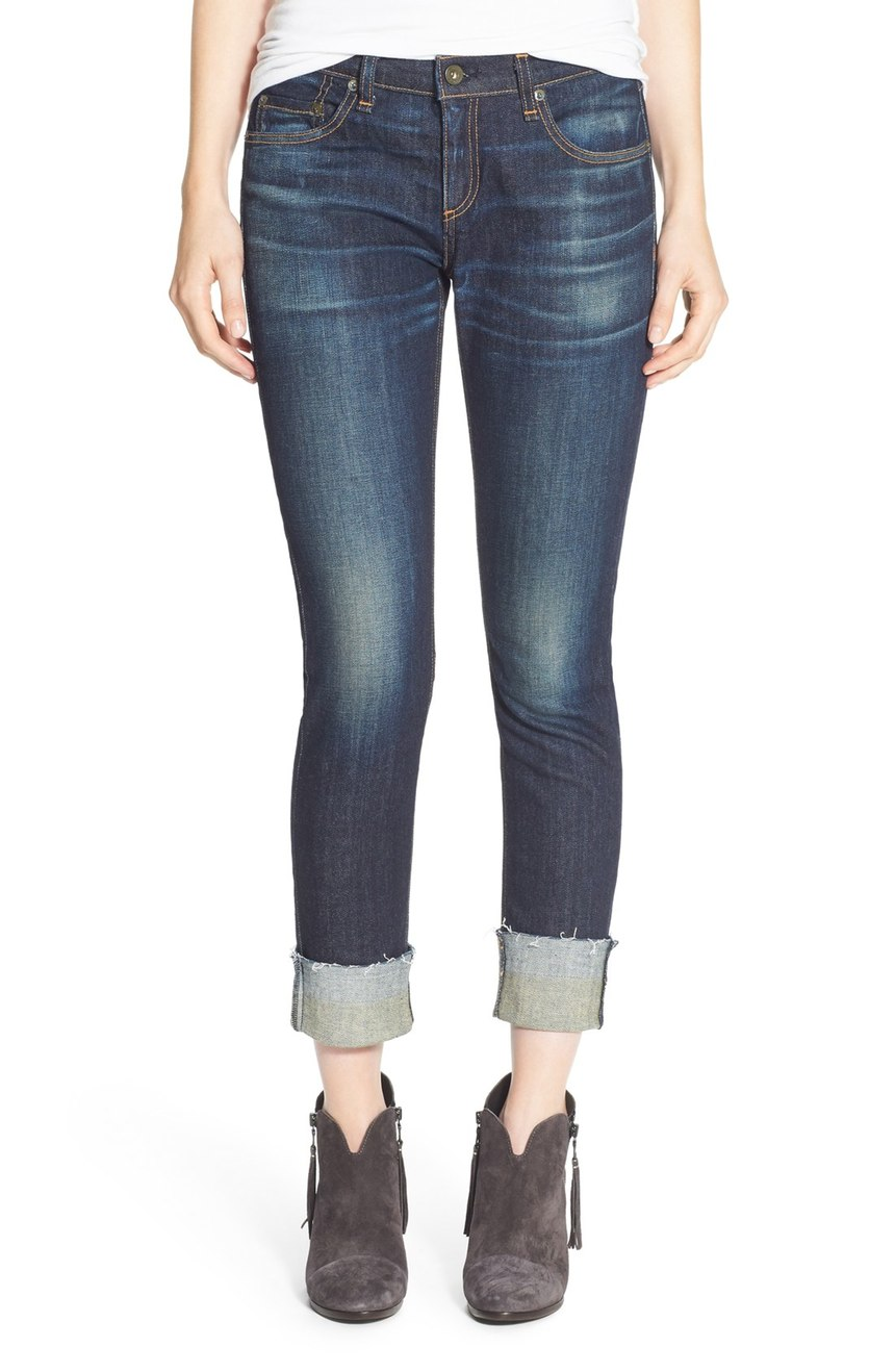 rag & bone/JEAN  'The Dre' Slim Fit Boyfriend Jeans (Yesler). Nordstrom. Was: $275 Now: $183.
