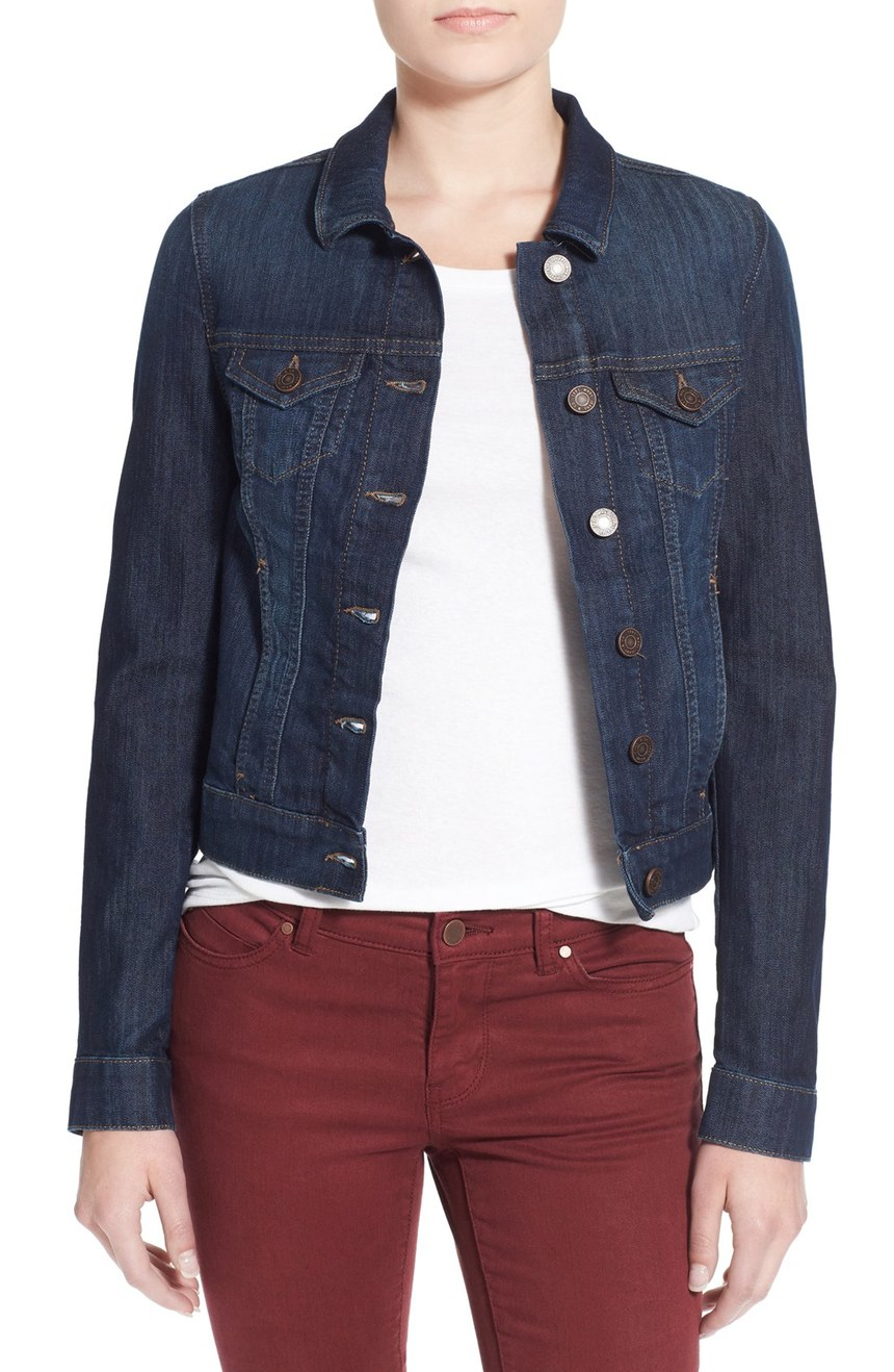 Mavi Jeans 'Samantha' Denim Jacket. Nordstrom. Now: $64. Will be: $98.