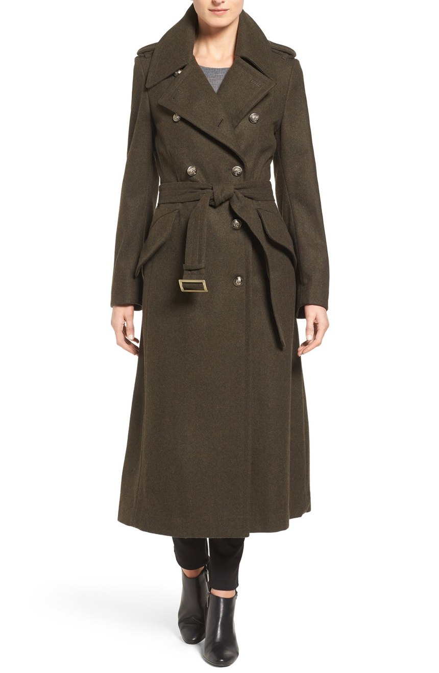 London Fog   Double Breasted Trench Coat. Nordstrom. Now: $169. Will be: $258.