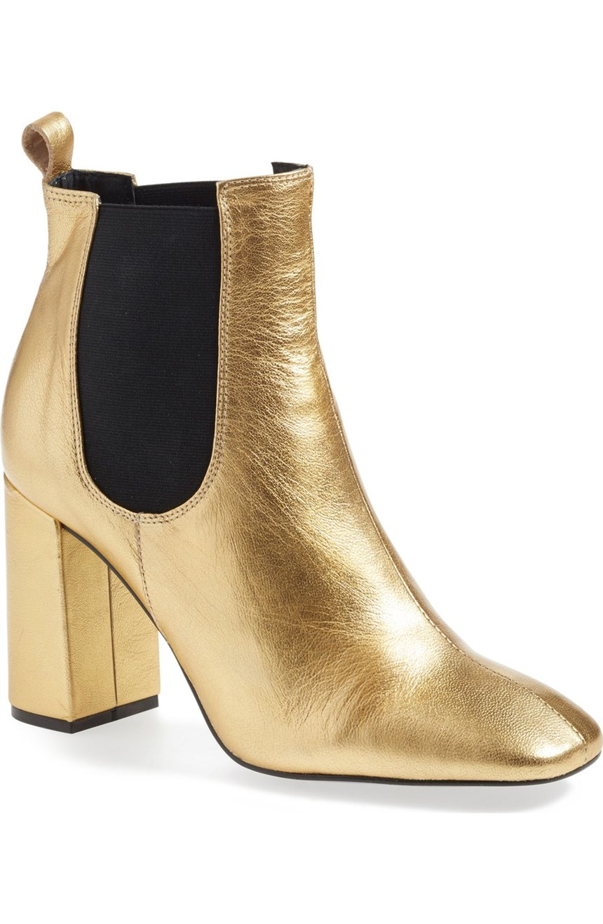 Topshop  'Maria' Chelsea Block Heel Boot . Nordstrom. Now: $99 Will be: $150.