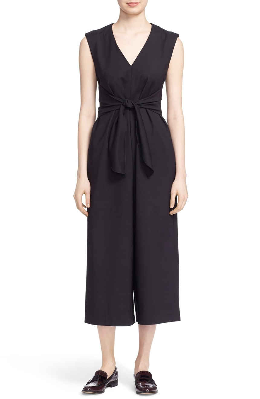 Tibi  'Bow' V-Neck Waist Tie Jumpsuit. Nordstrom. Now: $357. Will be: $595.