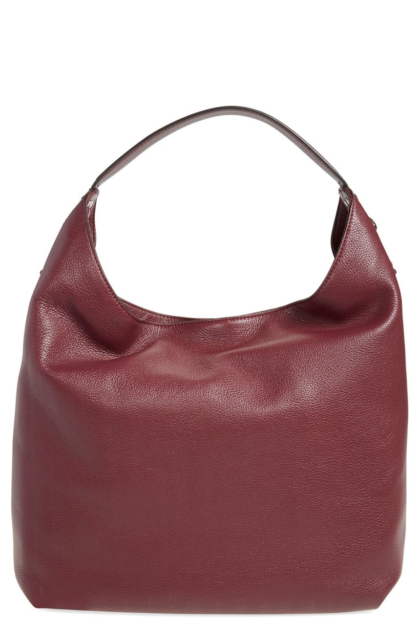 Rebecca Minkoff  'Bryn' Double Zip Hobo. Available in port, black. Nordstrom. Now: $196. Will be: $295.